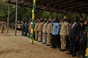 Autorités Remise des prix Collège militaire Eyadéma