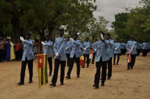Défilé élèves Collège militaire Eyadéma