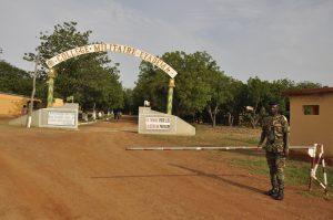 Entrée Collège militaire Eyadéma