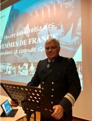 Conférence de notre camarade Jean-Louis COVILLE « L'oeuvre admirable des femmes de France pendant la Grande Guerre »