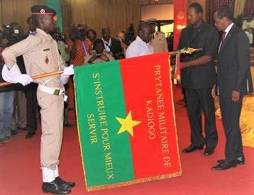 Remise des prix aux lauréats 2020 du Prytanée Militaire de Kadiogo