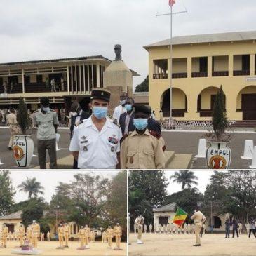 Remise du prix de Frères d'Armes à l'École Militaire Préparatoire Général Leclerc de Brazzaville