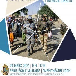 INTERCULTURALITÉ – 24 mars 2021 – colloque annuel de l'EMSOME à l'École Militaire