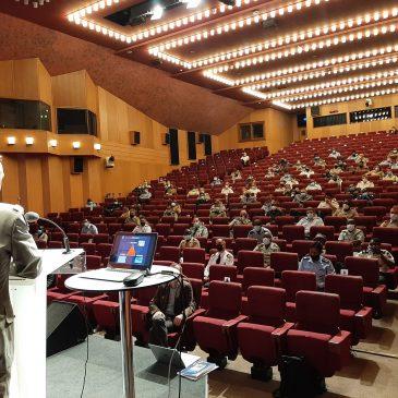 Conférence du général de division Pascal Facon, ancien commandant en chef de l'opération BARKHANE