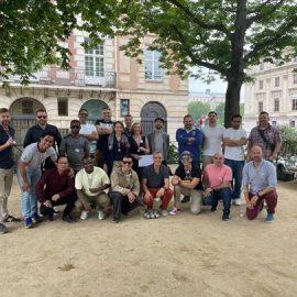 SILF – Le groupe B découvre un autre monument français : la pétanque !