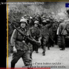 Hommage aux tirailleurs sénégalais massacrés à Chasselay en juin 1940